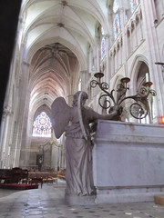 Cathedral Interior (bakpacker) Tags: france interiors stonework religion cathedrals greatbuildings romancatholicism francesept2011