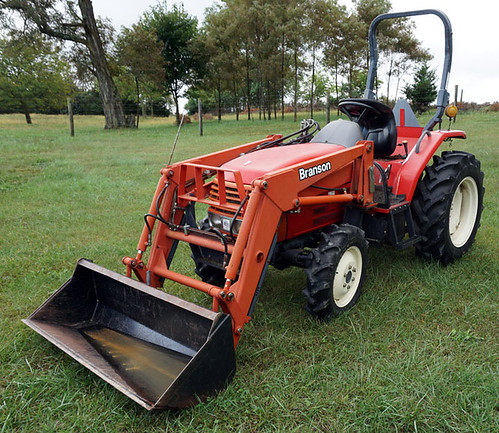 Branson Tractor - $8580.00 (Sold October 9, 2015)