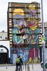 Street art (Frank Fullard) Tags: street ireland dublin irish streetart art graffiti colorful colourful derelict fullard frankfullard