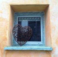 Tamins (micky the pixel) Tags: art window schweiz switzerland suisse heart fenster kunst herz graubnden grischuna tamins schmiedearbeit
