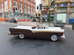 Ford Fairlane | Die Another Day | James Bond 007 (rubel roy's photography) Tags: ford james die day outdoor bond pierce another toycar 007 fairlane | diecast brosnan