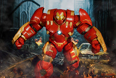 """""""Listen to me, that little witch is messing with your mind."""" (mickeyrdj) Tags: actionfigure ironman actionfigures marvellegends marvel marvelcomics avengers tonystark avenger hulkbuster acba avengersmovie ageofultron"""