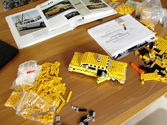 Checker cab WIP (Mad physicist) Tags: ny newyork lego taxi workinprogress wip