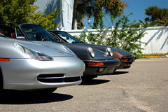 Cape Fear Area Porsche Club Shoot (Greater East Imports) Tags: black beach yellow club silver grey 911 headlights turbo porsche wilmington carrera targa 928 aircooled 914 capefear 948 drilledrotors 91150