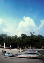 2 (wirapraja25) Tags: beach indonesia landscape ship eastjava banyuwangi wediireng