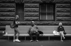 086-365 A throne is only a bench covered in velvet (cohenvandervelde) Tags: street camera city shadow portrait people bw color colour souls silhouette night 35mm canon project lens 50mm lights blackwhite flickr dof faces zoom bokeh candid streetphotography australia melbourne going scout scene snap depthoffield explore creativecommons 365 unposed cowes collecting tog decisivemoment candidportrait primelens 550d apsc flickriver cropsensor canon550d streettog worldstreetphotography 365project2016 cohenvandervelde zoomlens365project