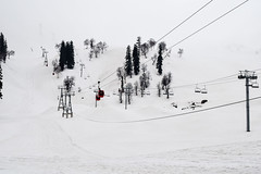 Gondola Ride (Nirmalya Pandit) Tags: winter snow cold tree car fog daylight ride rope gondola kashmir landskape d3300