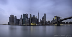Another Pano of Manhattan (Snia CM) Tags: longexposure bridge ny newyork river fuji manhattan fujifilm 1024 largaexposicion llargaexposicio visipix fujixt1 esfujifilmx