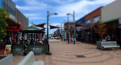 Devonport Mall, Tasmania (Steven Penton) Tags: blur mall australia tasmania tilt devonport