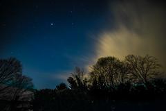 drops of Jupiter... (w3inc / Bill) Tags: trees silhouette night clouds stars nikon jupiter hss d610 w3inc slidersunday