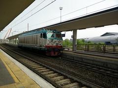 Invio E632.016 (simone.dibiase) Tags: train torino 8 trains cargo otto treno 016 stato trenitalia lingotto treni dello ferrovie binario fascio arrivi 632 orbassano invio e632 cargoitalia
