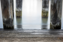 Timeless (Martin Snicer Photography) Tags: ocean wood longexposure travel sea water 50mm jetty picturesque timeless 6d ndfilter lavenderbay