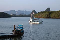 IMG_0938 Krabi,Thailand (suebmtl) Tags: seascape mountains landscape thailand scenic mangroves karst krabi krabiprovince