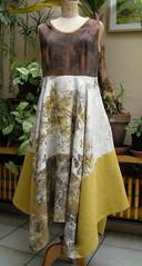 robe pauline jaune