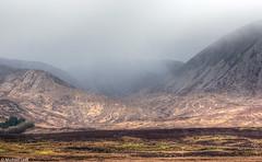 Strathaird towards Bla Bheinn, Isle of Skye (Michael Leek Photography) Tags: cloud mist mountains skye nature rain weather fog island scotland isleofskye innerhebrides nopeople remote wilderness hdr highdynamicrange hebrides scottishhighlands scottishlandscapes scotlandslandscapes michaelleek michaelleekphotography