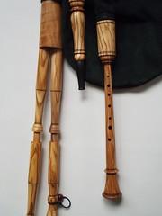 Conical chanter pipes in C / Recorder fingering (Bagpipe Maker T. Sonoda) Tags: germany mnchen bayern conical bagpipe chanter landshut gaita dudelsack cornemuse erding dudy musette sckpipa sackpfeife