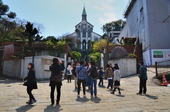 Oura Church  (jpellgen) Tags: travel church japan architecture easter japanese march spring european catholic cathedral sigma christian glover  nippon christianity nagasaki nihon nationaltreasure  2016  oura  1770mm kushu ourachurch tenshudo gloverstreet d7000 gloverdori
