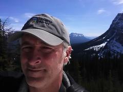 Above Lake Louise Self (pokoroto) Tags: above people lake canada self spring louise alberta april 2016  4  uzuki  shigatsu  unohanamonth 28