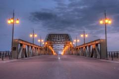Asahibashi-Bridge, Asahikawa in early morning on APR 21, 2016 vol01 (4) (wakkanai097) Tags: bridge japan nikon hokkaido april hdr 2016 asahikawa p7700