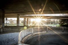Eastville (pixelhut) Tags: road city uk england urban southwest bristol motorway police suburb innercity flyover grafetti stapleton m32 eastville