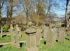Haworth churchyard (Majorshots) Tags: yorkshire westyorkshire haworth haworthparishchurch haworthchurchyard brontfamily thebronts stmichaelandallangelschurchhaworth