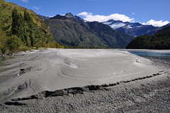 Matukituki River bank (Dietmar Down Under) Tags: park new zealand national sandbank aspiring westmatukitukivalley