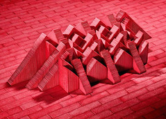 Architectural Sculptures Made from Gum Sticks (PhotographyPLUS) Tags: pictures graphics photos illustrations images stockphotos articles footage stockimage freephoto stockphotograph