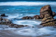 Spin Cycle (www.karltonhuberphotography.com) Tags: ocean longexposure seascape motion nature water outdoors waves action circles patterns tide details pacificocean southerncalifornia tidepool naturalworld seafoam contemplation 2016 churning flowingwater reefpoint horizontalimage shorelinerocks karltonhuber vignettadded