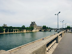 Evening Stroll (zingertek) Tags: paris france riverseine vsco sonydscwx350