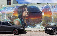 Jarus  Monk.E (BE'N 59) Tags: en streetart blanco sanmigueldeallende mexique muros