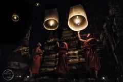 Sky Lanterns - Little Monks
