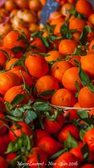 Nice - March-9 (majorlaurent) Tags: orange france fruit french nice market bokeh blurred reflet cote march flou dazur
