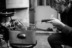 , (jedelibourne) Tags: autoportrait bordeaux biere frite
