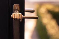 handle (penwren) Tags: europe hand belgium bokeh brugge bruges brass doorhandle