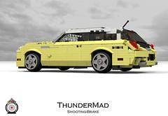 LUGNuts Custom ThunderMad Shooting-Brake Concept (lego911) Tags: auto 2002 ford car modern wagon volvo model lego render convertible retro smell rod shooting 102 brake hatch concept custom thunderbird coupe challenge v8 cad lugnuts roadster povray moc ldd miniland mk11 shootingbrake c30 lego911 mkxi thundermad ismellamodernrat