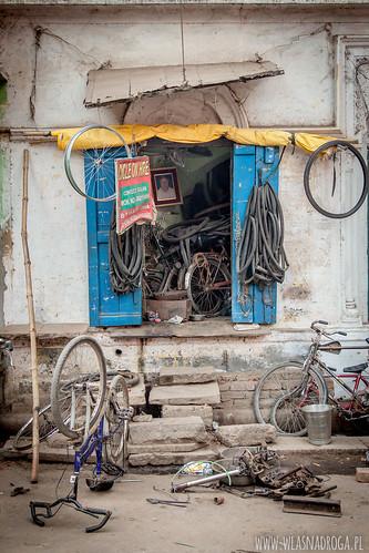 Warsztat rowerowy