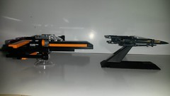 20160424_001944 (p13c30fch33s3) Tags: starwars lego mini xwing poes resistance t70 30278