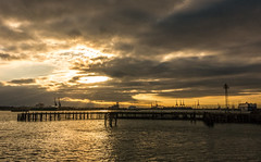Southampton Docks (Andy Latt) Tags: sea sky water clouds docks coast sony shore southampton southamptonwater andylatt rx100m3 dsc01287r