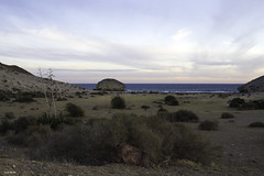 Color y equilibrio en el Cabo de Gata (jlpezrecio) Tags: sunset beach andaluca spain sunsets playa almera cabodegata