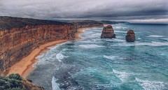 There was a time (FlavioSarescia) Tags: ocean travel blue sea sky nature water rock landscape coast rocks waves australia greatoceanroad