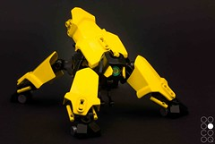 Yel-01 (Cole Blaq) Tags: robot walker scifi mecha mech thinktank multiped coleblaq