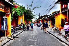 Streets of Hoi An (Melvin Yue) Tags: street city travel colors 35mm asia vietnamese cityscape colours streetphotography wanderlust traveller vietnam hoian explore fujifilm lonelyplanet photooftheday picoftheday natgeo travelphotography travelgram x100s