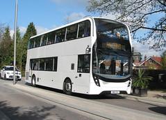 Haytons AD Enviro 400MMC SN16OGZ - Poynton (dwb transport photos) Tags: bus alexander dennis decker poynton selwyns haytons 400mmc sn16ogx
