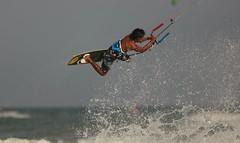 Kite surfing New Year in Thailand (leebanderson201067) Tags: thailand kitesurfing watersports huahin surfboarding