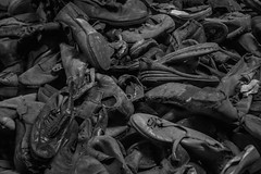 Auschwitz I #06 (Matthew on the road) Tags: world camp boot shoe concentration shoes war boots poland krakow august second auschwitz concentrationcamp secondworldwar 2015 august2015 matthewnan matthewontheroad