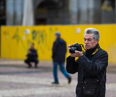 The Photographer (Jess Simen) Tags: madrid plazamayor elfotografo