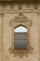 Italian doors, windows and mailboxes (Flavio~) Tags: day2 italy window noto sicily barroque oct2015 spanisharcitecture