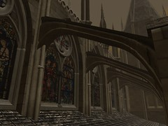 St. Illuminatious (un) Tags: cathedral secondlife arquitecture
