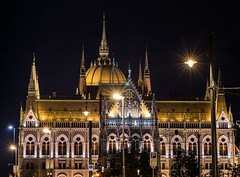 The Awe-Inspiring Hungarian Parliament (lncgriffin) Tags: longexposure nightphotography travel architecture zeiss nikon europa europe hungary budapest limestone d750 neogothic hdr magyarorszg distagon hungarianparliament neorenaissance imresteindl pearlofthedanube distagon2128zf