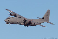 130608 (galenburrows) Tags: airplane flying aircraft aviation military flight jet airforce lockheed c130 trenton rcaf planespotting royalcanadianairforce c130j cfbtrenton ytr cytr